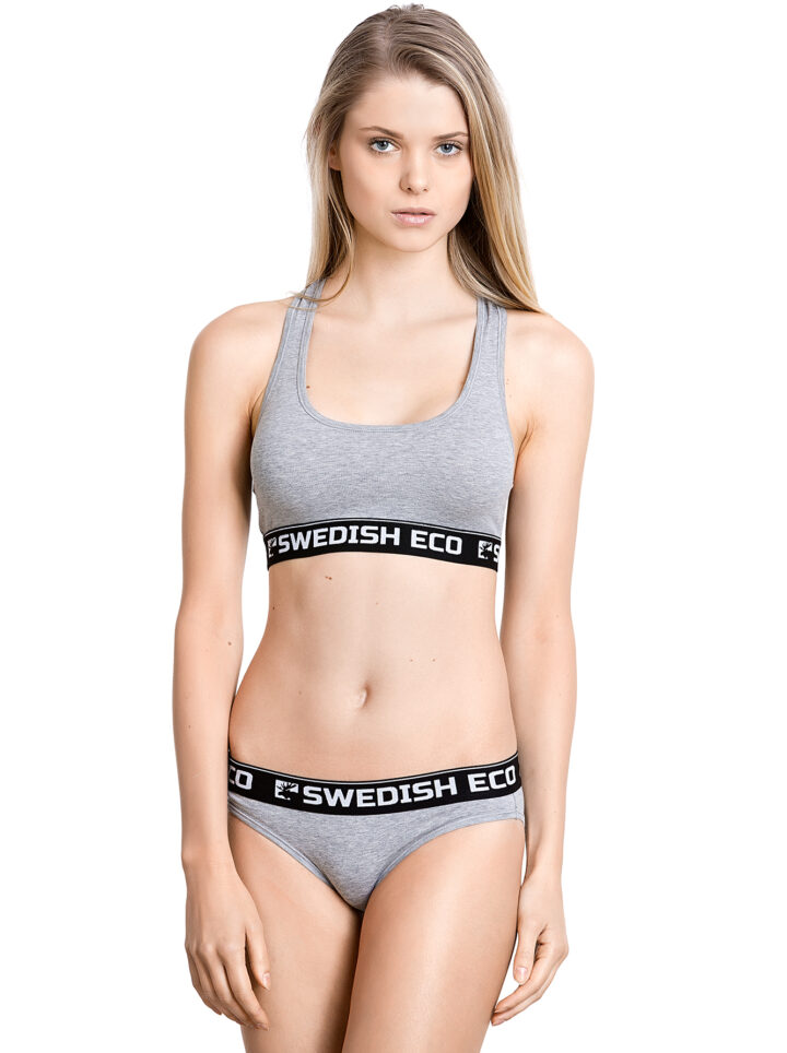 Swedish Eco Organic Underwear GOTS grey