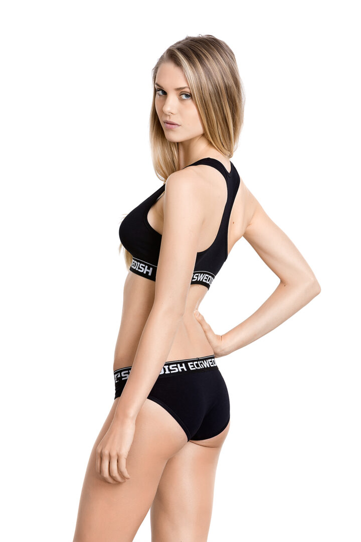 Swedish Eco Organic Underwear GOTS black