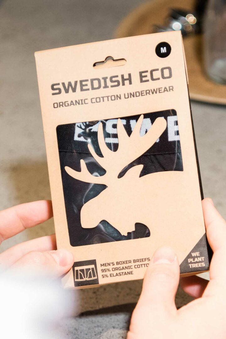 Swedish Eco organic underwear