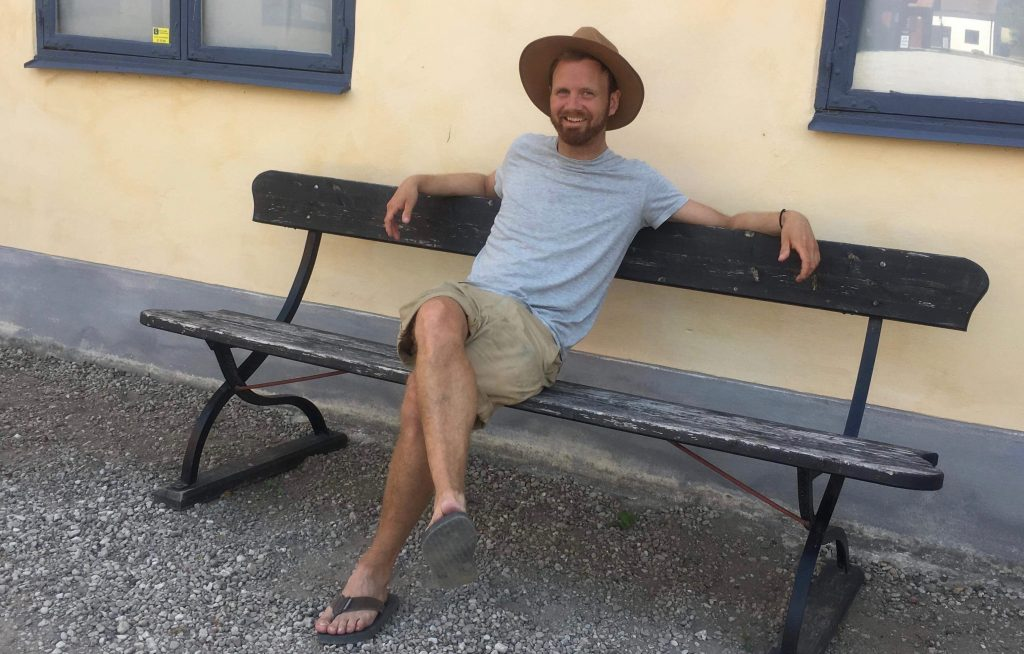 Erik, Cofounder and change maker of Swedish Eco
